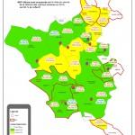 Cartographie de la mise en place des rythmes scolaires sur le territoire de Tarn & Dadou