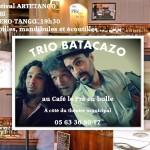 Albi : Trio Batacazo en concert au Pré en Bulle