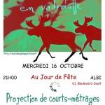 Albi : Projection de Courts-Métrages au bar Jour de fête