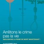 Journée mondiale contre la peine de mort 2013