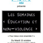 Labruguière : Sur le chemin de l'école de la non-violence