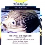 Lisle-sur-Tarn des livres qui piquent (c) Médiathèque