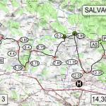 Rallye des côtes du Tarn 2013 - Le spéciale de Salvagnac