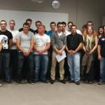 17 alternants ont suivi une formation de Technicien Expert Après-Vente Automobile au Pôle Automobile d'Albi et obtenu leur certificat / © CCI du Tarn