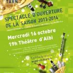 Albi : Spectacle ouverture de la saison 2013-2014 du Conservatoire