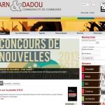 Site Internet des médiathèques Tarn & Dadou