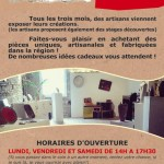 Couffouleux : Exposition artisanat d'art