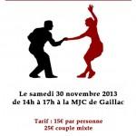 Gaillac : Stage Lindy Hop à la MJC