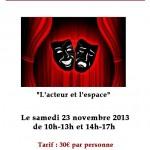 Gaillac : Stage de théâtre à la MJC