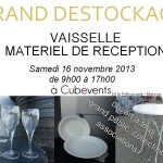 Marssac-sur-Tarn : Grand destockage, vaisselle et réception