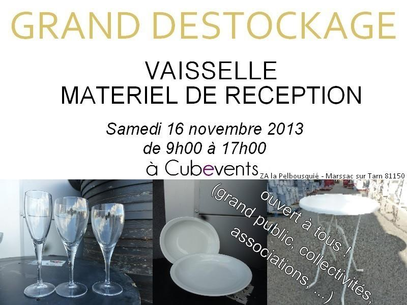 marssac sur tarn grand destockage vaisselle et r ception dans ton tarn. Black Bedroom Furniture Sets. Home Design Ideas