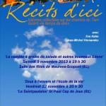 Saint-Paul-Cap-de-Joux : Récits d'ici, veillée contée avec Eva Hahn et Jean-Michel Hernandez