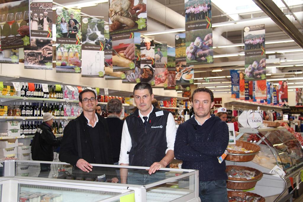 Economie les parisiens fans des produits tarnais dans - Leclerc rueil malmaison ...