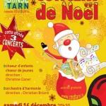 Castres : Concerts de Noël au théâtre municipal avec le Conservatoire de Musique et de Danse du Tarn