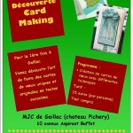 Gaillac Stage de Cardmaking (c) MJC Gaillac