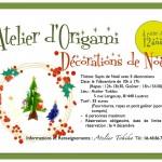 Lautrec Atelier d'origami :Décoration de Noël (c) Atelier Tokiko