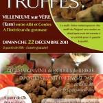 Villeneuve-sur-Vère : Marché de la truffe