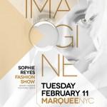 Soirée Imagine, 11 Février 2014 AU Marquee - New York