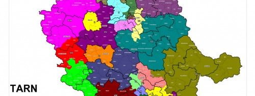 Carte cantonale revisee du Tarn / © Préfecture du Tarn