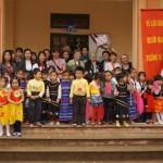 Les enfants de l'école maternelle de Ba Vi (c) Lumières d'Asie