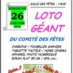 Marssac-sur-Tarn : Loto géant du comité des fetes de Marssac