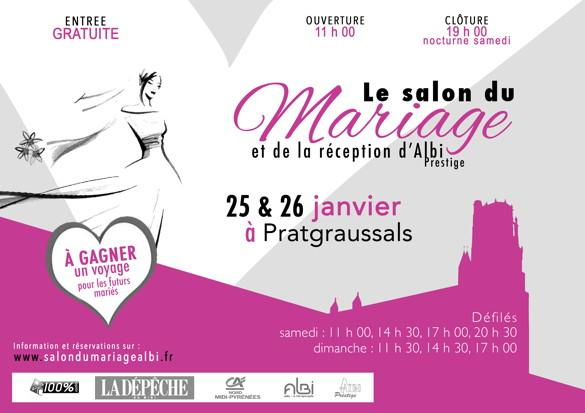 Albi salon du mariage et de la r ception d albi dans for Salon de the albi