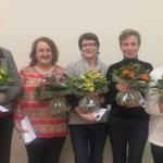 ADAR 81, Remise des médailles 2014  - De gauche à droite : Christine CAZELLES (Présidente), A-Marie Assémat (médaille de vermeil), Arlette PELISSIER, Marlène GRILLERES, Sandrine ESCANDE, Marie-José GARDIES (médailles d'argent), Bernard ESCUDIER (Directeur). / © Adar 81