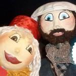Lavaur : Les aventures de Mme Ficelle, spectacle de marionnettes à la Halle aux grains / Concours DTT