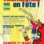 Gaillac Trombones en Fête ! (c) Conservatoire de Musique et de Danse du Tarn