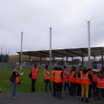 Labessière Candeil : Des éco-lycéens de Castres en visite à Trifyl / © Trifyl