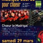 Castres Musique sacrée pour choeur (c) Conservatoire de Musique et de Danse du Tarn