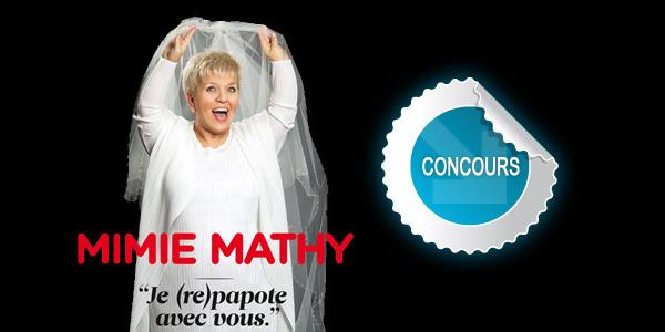 Gagnez des places pour le spectacle de Mimie Mathy au Scénith d'Albi avec les concours DTT