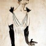 Yvette Guilbert vue par Toulouse-Lautrec  (c) wikipedia.org