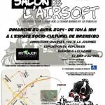 Brens : Salon de l'airsoft à l'Espace socio culturel