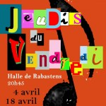Rabastens : Jeudis du Vendredi : Duo Doumerc-Demonsant en concert