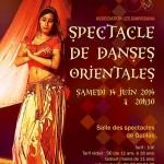 Gaillac : Spectacle de danses orientales