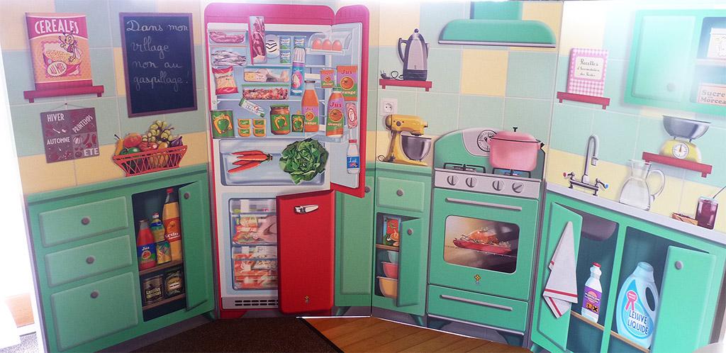 environnement une cuisine anti gaspi au centre e leclerc de gaillac avec tarn dadou dans. Black Bedroom Furniture Sets. Home Design Ideas