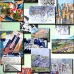 Burlats Exposition peinture (c) l'Atelier d'Art 81
