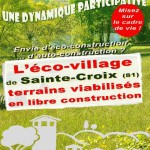 Sainte-Croix : Les éco-matériaux, exposition à la Mairie