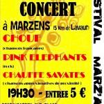 Marzens Marz'Art 2e édition - Concert rock (c) association Marz'Art