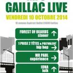 Gaillac : Gaillac Live, concerts à la MJC
