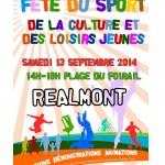 Réalmont Fête du Sport, et des loisirs jeunes (c) Communauté de communes Centre Tarn