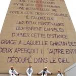 Aussillon : Façade littéraire, Aussillon a fait le mur