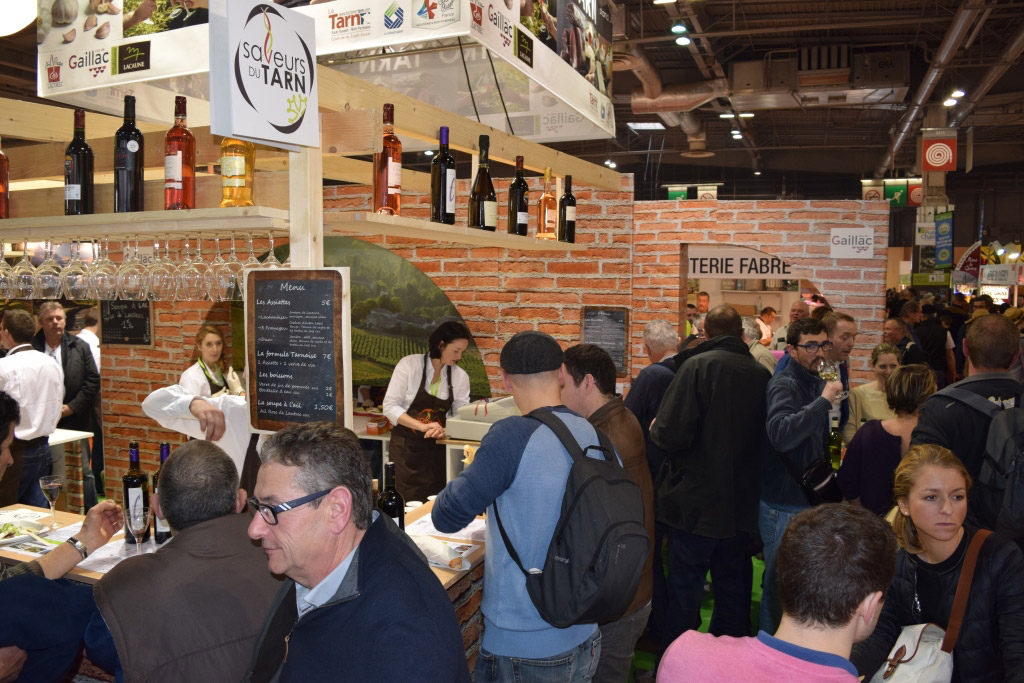 Tarn le bistro tarn cartonne au salon de l agriculture for Salon des saveurs paris