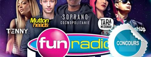 Gagnez des places pour la soirée FUN RADIO LIVE au Scénith d'Albi - Concours DTT