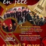 Castres : Trombones en Fête, le CMDT au Théâtre municipal