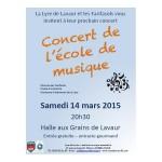 Lavaur : Concert de l'école de musique