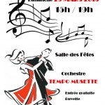 Saint-Benoît-de-Carmaux : Thé dansant