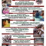Burlats : Week-end d'ateliers créatifs