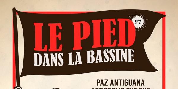 Le Pied dans la Bassine, l'affiche 2015